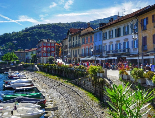 Most beautiful town on Lake Maggiore 🇮🇹