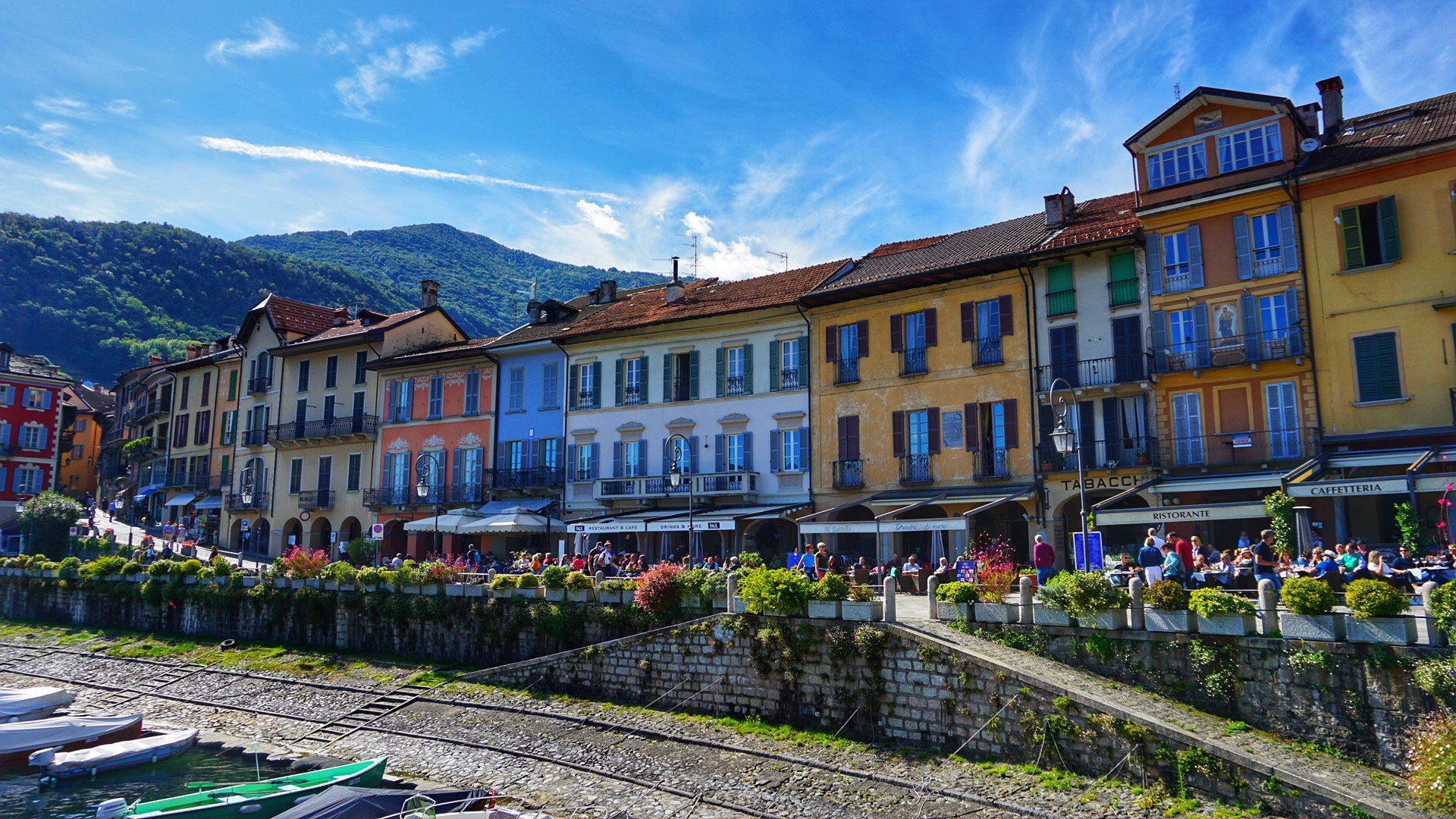 Most beautiful town on Lake Maggiore