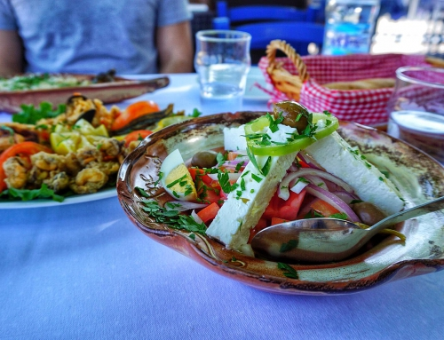 5 steps in the sand restaurant, Sithonia