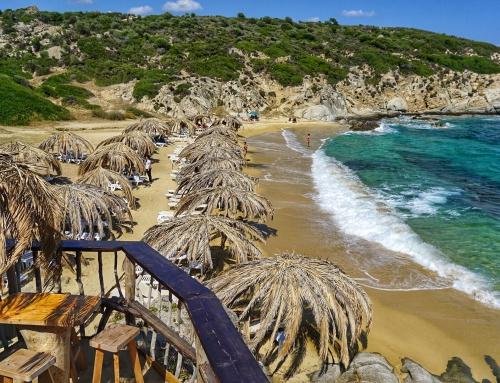Tigania Beach, Halkidiki