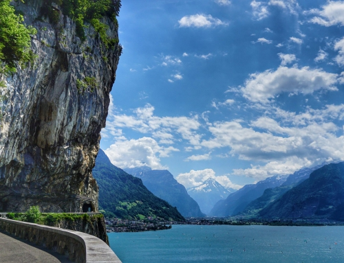 Perfect lakeside hike with gorgeous views in Switzerland
