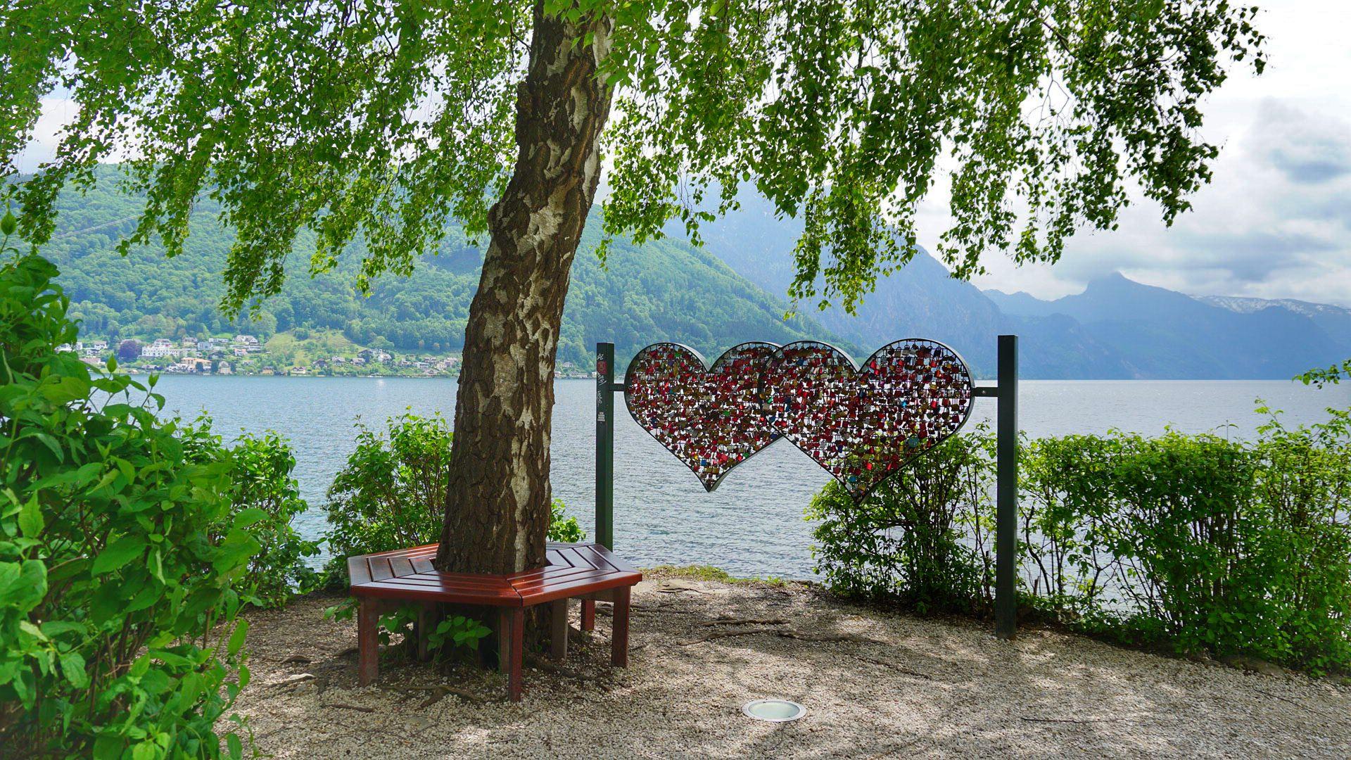 The most beautiful lakes in Salzkammergut Austria