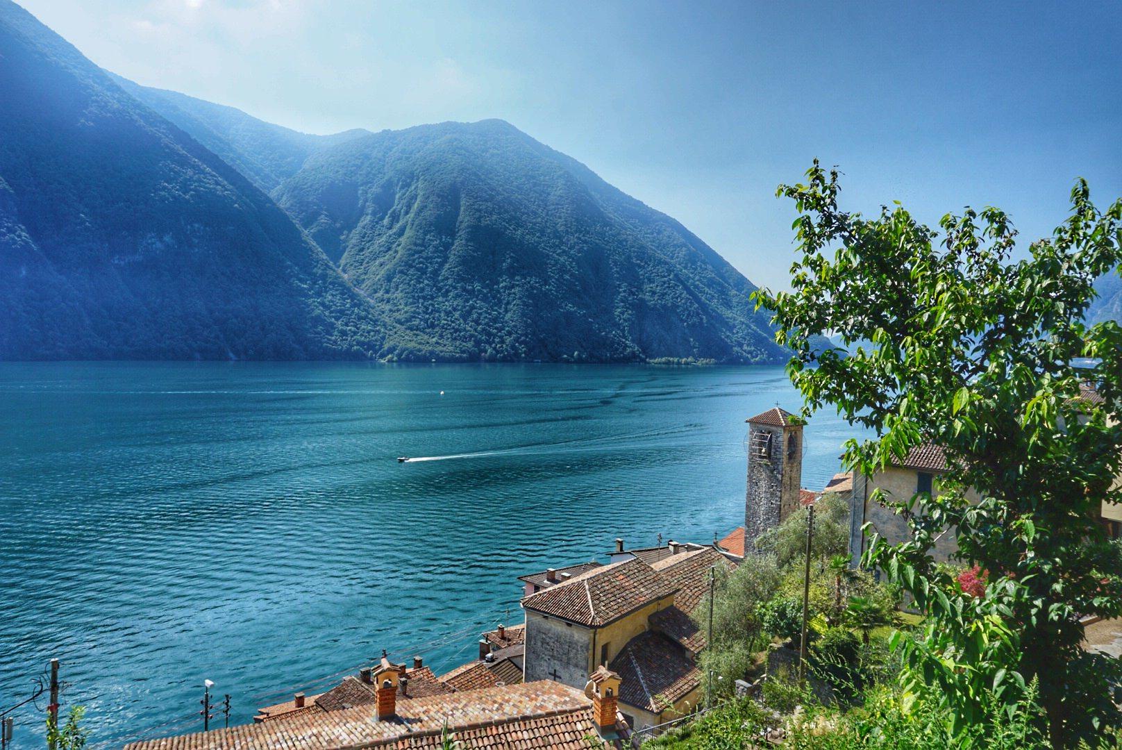 Day trip to Lake Lugano – Switzerland