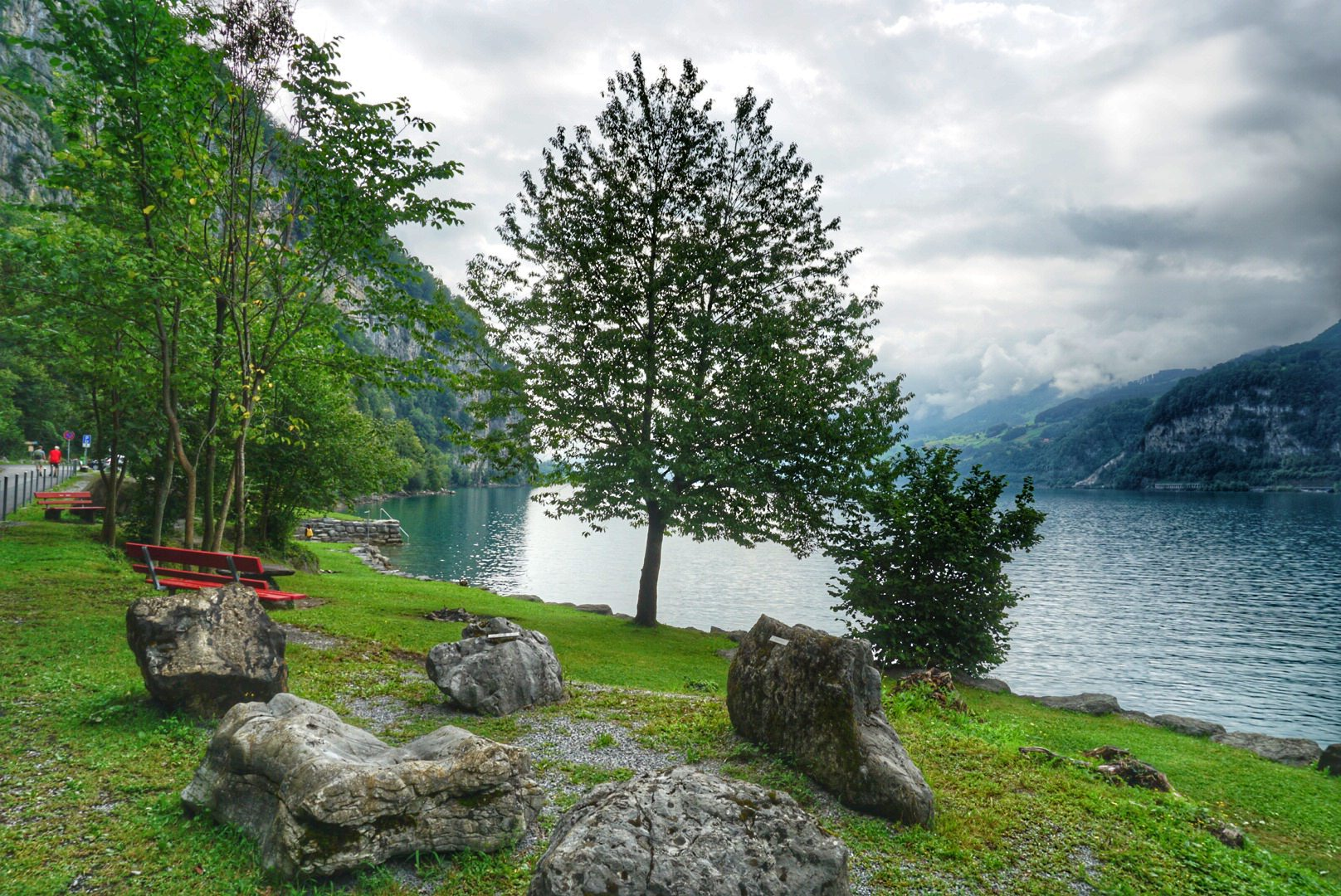 Day trip from Zurich to Lake Walen